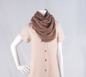 Brown Bamboo Scarf